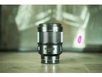 Sony 135mm f/1.8 lens