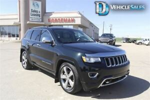 2015 Jeep Grand Cherokee Overland, 4x4, DEISEL, LEATHER, NAV