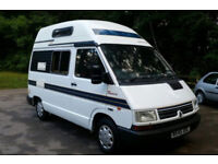 FOR SALE AUTOSLEEPER ROMERO CAMPERVAN FSH POW STEER 2/3 BERTH SOLID WAXOYLED CHASSIS 4 SEAT BELTS.