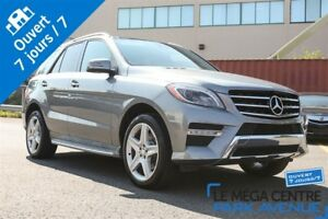 2013 Mercedes-Benz M-Class ML 350 BlueTEC 4MATIC, AWD, NAV