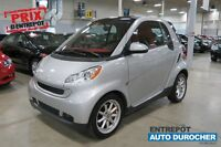 2009 Smart fortwo Passion(Air clim.,groupe elect.,toit ouvr.,siè