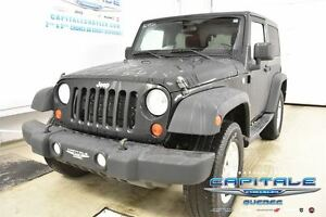 2013 Jeep Wrangler SPORT 4X4*PLAN OR*2 TOITS*MAGS*AUTOMATIQUE