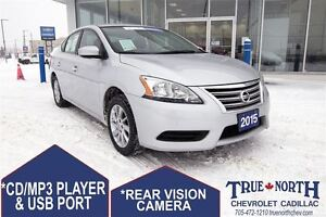 2015 Nissan Sentra 1.8 SV FWD -PREVIOUS DAILY RENTAL/HEATED SEAT