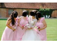 Bridesmaid dresses pink bundle of 4