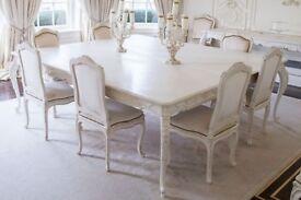 Stunning Designer Dining Table - Quick Sale
