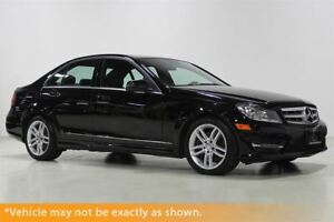 2013 Mercedes-Benz C-Class C 300 4MATIC AWD Sport pkg, Moonroof,