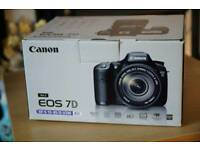 Canon 7d and New bg-e7 battery grip plus Canon EF 50mm f1.8 ii