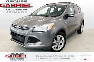 2013 Ford Escape SEL 4WD Nav/Leather/Sunroof/18 inches