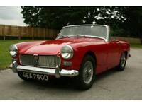 1966 Mg Midget 1.1 Petrol Manual Red 400 Miles