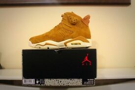 Air Jordan Retro 6 Wheat 7.5uk