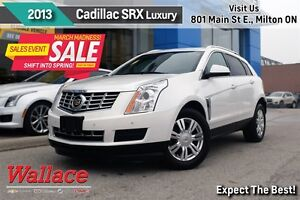 2013 Cadillac SRX Luxury Collection/1-OWNER/ULTRAVIEW MOONROOF/H