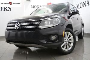 2014 Volkswagen Tiguan 2.0L 200 HP 4MOTION LEATHER PANO BT FULL