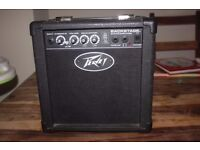 Peavey Backstage Portable Guitar Amplifier Amp Transtube tube sound practice rehearsal warmup home