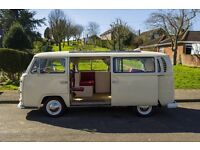 VW campervan T2 1968