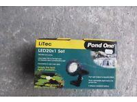unused pond one led light set 20x1