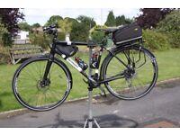 Merida Crossway Urban 100 touring bike - as new condition - ridden less than 100 miles