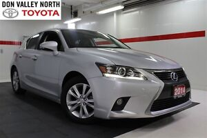 2014 Lexus CT 200h Base Heated Lthr Btooth Pwr Seat Wndws Mirrs