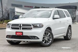 2017 Dodge Durango GT, BLUE RAY, LEATHER, ROOF