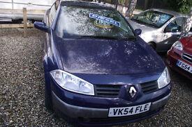 Renault megane convertable diesel