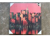 Brand New: New York Skyline Canvas Picture