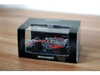 Lewis Hamilton Mclaren Minichamps 2008 World Champions 1/43