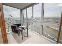 29TH FLOOR 3 BED - One The Tower, One St Georges Wharf SW8 - VAUXHALL NINE ELMS LAMBETH PIMLICO CITY