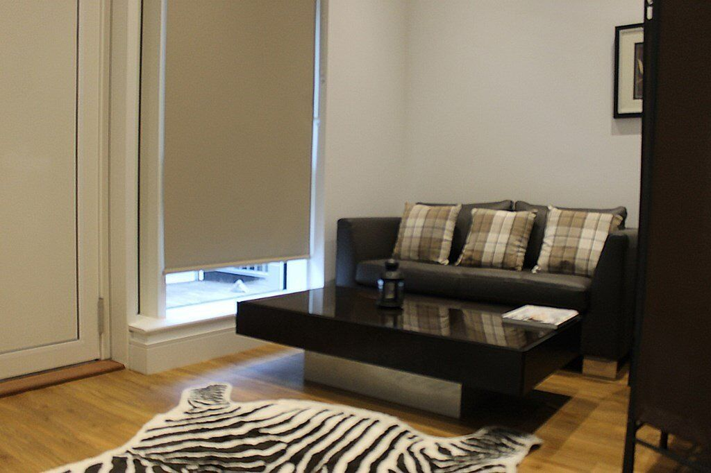 DESIGNER FURNISHED STUDIO APARTMENT WITH HIGH CEILINGS ANGEL ISLINGTON N7 ARSENAL CONCIERGE FREE GYM