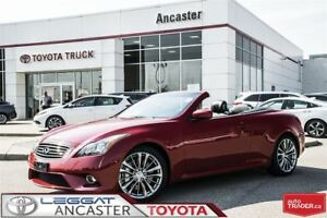 2013 Infiniti G37 CONVERTIBLE Sport WITH ONLY 41272 KMS!!