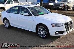 2015 Audi A4 2.0T Komfort plus Bluetooth! Sunroof! Leather!