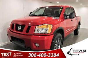 2012 Nissan Titan Pro 4X|Red|Bluetooth|PST Paid