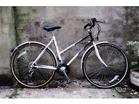 RALEIGH PIONEER SPIRIT, ladies women's hybrid road bike, 21 inch, 18 speed