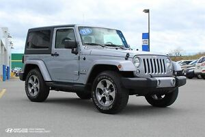 2016 Jeep Wrangler Sahara! 6 SPEED! NAVIGATION! LIKE NEW!