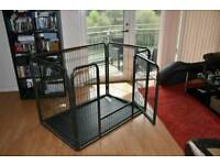 Dog pen large open to offers