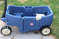 2step 2seater wagon with storage compartment