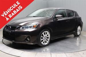 2012 Lexus CT 200h HYBRID CUIR TOIT OUVRANT MAGS
