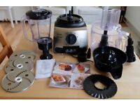 Tefal Food Processor (Vita Compact Pro) with Original Accessories/Instructions/Recipes Included