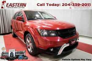 2016 Dodge Journey Crossroad LEATHER MOONROOF TOUCHSCREEN BACK U
