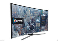 49'' SAMSUNG CURVED 4K ULTRA HD LED TV.2016 MODEL UE49KU6100. FREEVIEW HD. FREE DELIVERY/SETUP