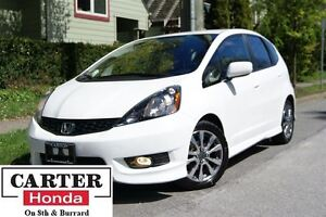 2013 Honda Fit Sport + ALLOYS + ONE OWNER + CERTIFIED!