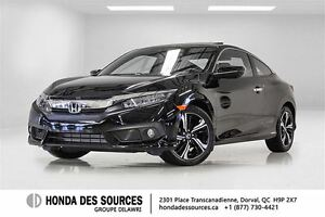 2016 Honda Civic Coupe Touring CVT * Flambant Neuf * Touring * C