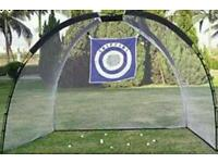 Gold practice chipping net