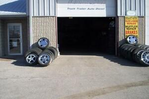WE SELL GOOD  USE TIRE & NEW TIRE   MAJOR AND MINOR AUTO REPAIRS Windsor Region Ontario image 1