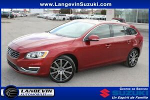 2015 Volvo V60 T6 R-DESIGN/AWD/CUIR/TOIT OUVRANT