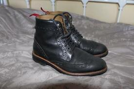 Brogue Boots Size 6 ASOS