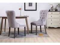 DINING CHAIRS | DEEP BUTTON | KNOCKER BACK