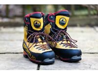 LA SPORTIVA Nepal Cube GTX Mountaineering shoes, Size 43.5, very good condition