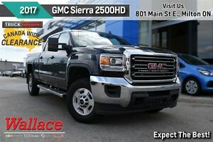 2017 GMC SIERRA 2500HD SLE/1-OWNER/CLEAN CARPROOF/6.0L/Z71/HD TR