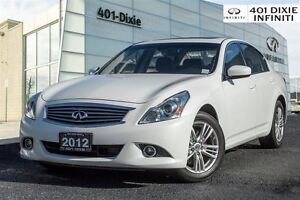 2012 Infiniti G37X AWD, Navigation, Tech, Intelligent Cruise!