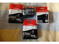 Canon 525 black/526 colour cartridges