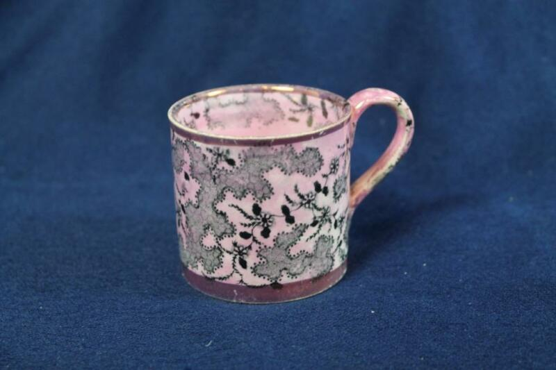 STAFFORDSHIRE PINK LUSTRE CHILDS CUP